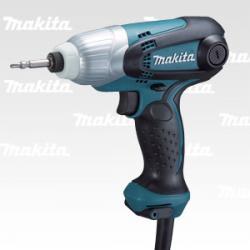 Makita TD 0101 F шуруповерт сетевой ударный, 230Вт, 0.99кг, подсветка